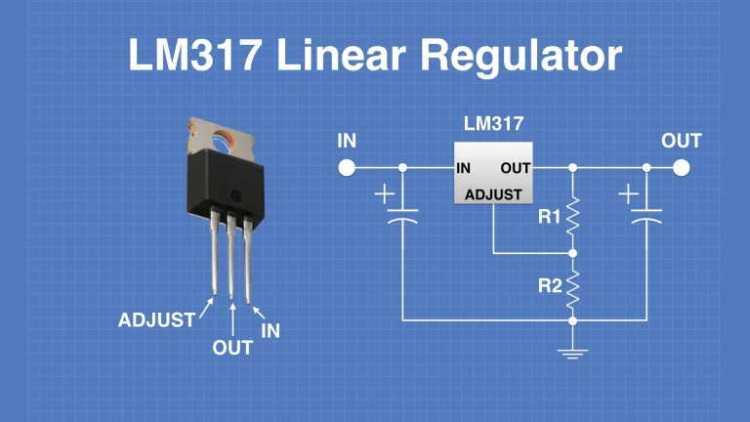 LM317 Variable Voltage Regulator