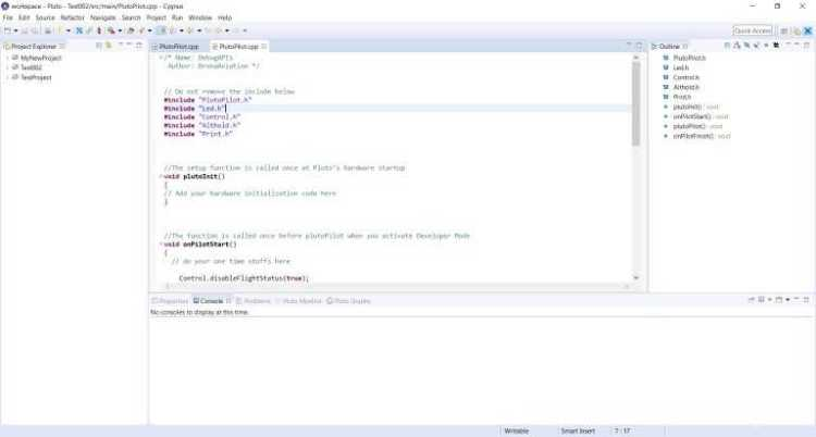 Cygnus IDE Interface