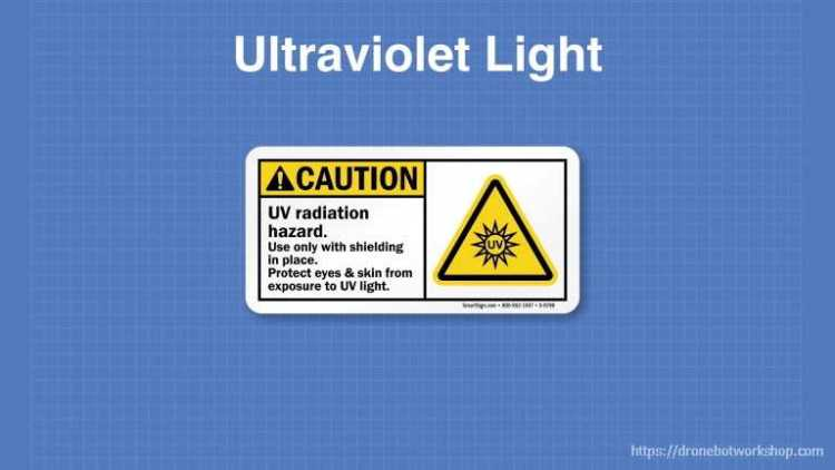 UV Light Warning Symbol