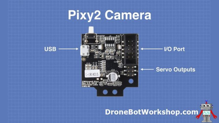 Pixy2 Camera – Simple Object Recognition | DroneBot Workshop