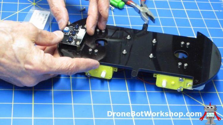 Installing Line Follow Sensor