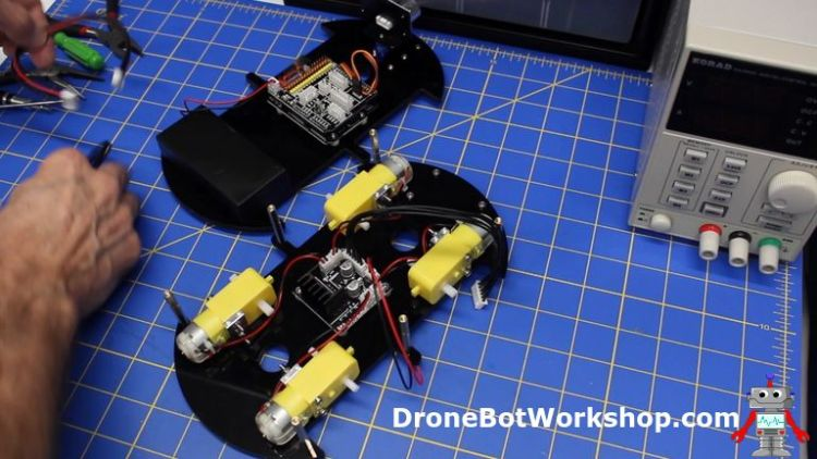 Building the Elegoo Smart Robot Car | DroneBot Workshop