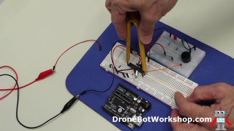 Chip Puller with ATmega328
