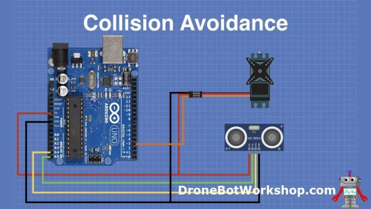Collision Avoidance hookup with Arduino