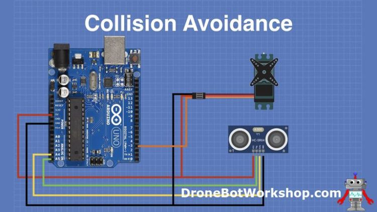 Collision Avoidance hookup with Arduino