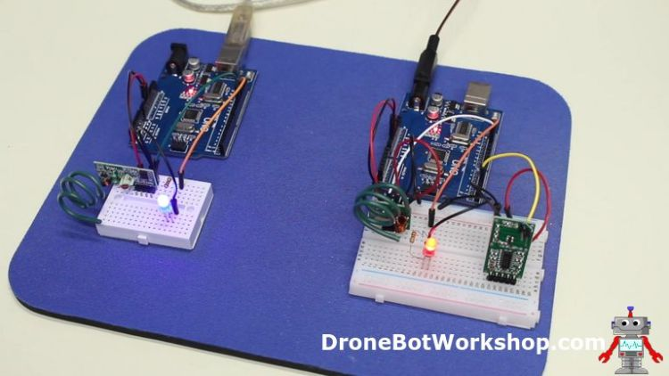 RCWL-0515 Remote Sensor Demo
