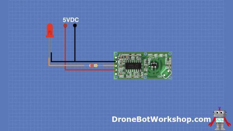 RCWL-0516 Basic Hookup