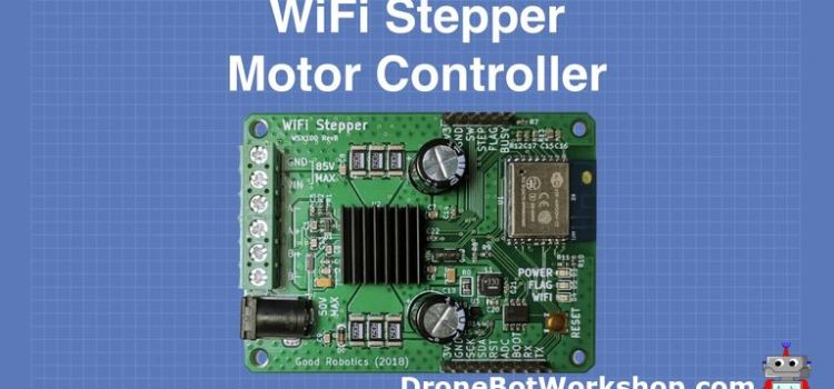 WiFi Stepper Motor Controller