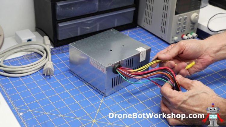 Pleasing Convert Atx Power Supply To Bench Supply Dronebot Workshop Wiring Database Gramgelartorg