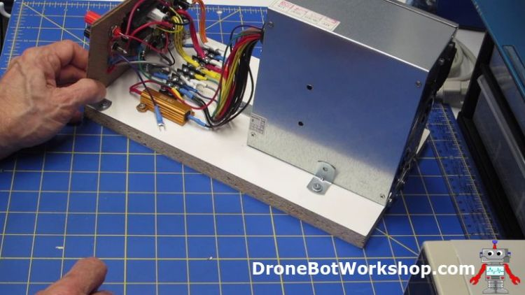 Mounting the Front Panel - Building the Supply