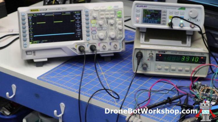 Arduino High Frequency PWM Counter