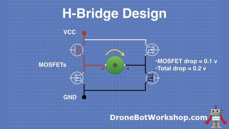 H-Bridge Design with MOSFETs