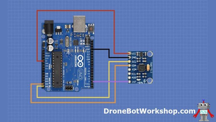 Build a Digital Level with MPU-6050 and Arduino | DroneBot