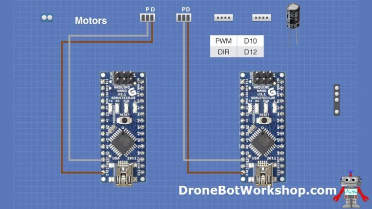 Motor Controller PWM and DIR