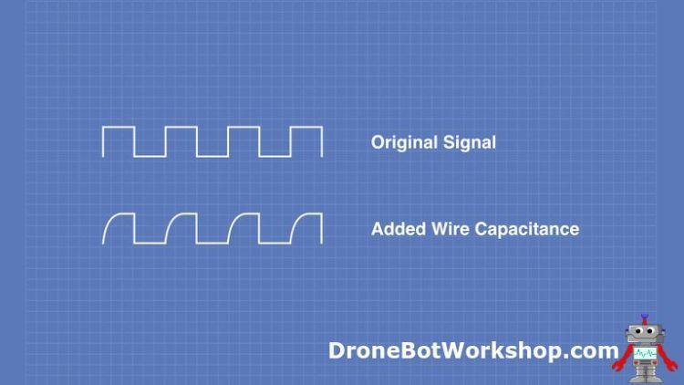I2C wiring capacitance problem