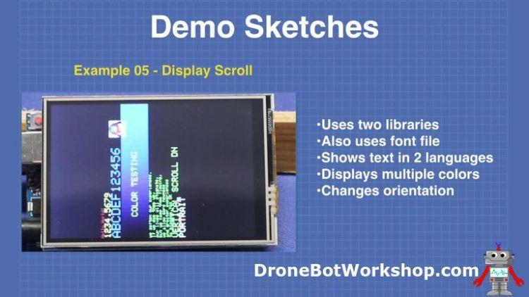 Demo 5-display-scroll