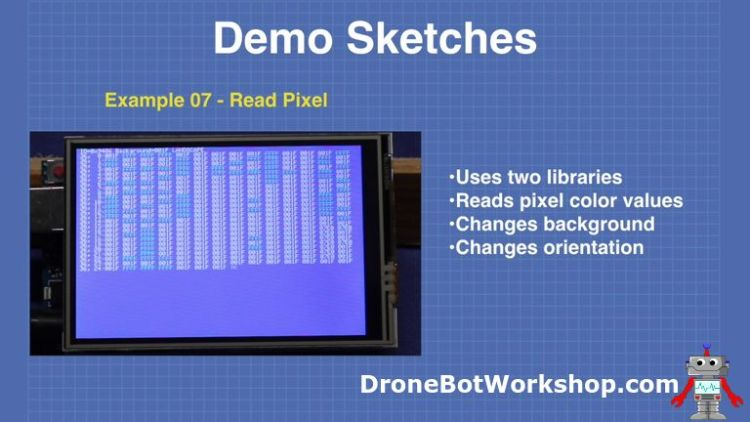 Demo 7-read-pixel