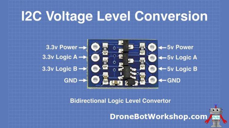Bidirectional logic-level converter