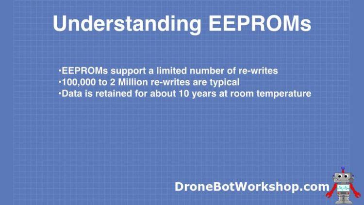 EEPROM Limitations