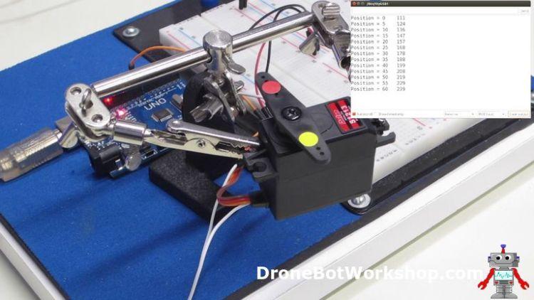 Analog Feedback Servo Motor Calibration