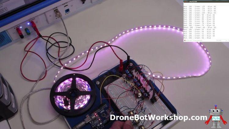 Arduino LED Strip Light Demo