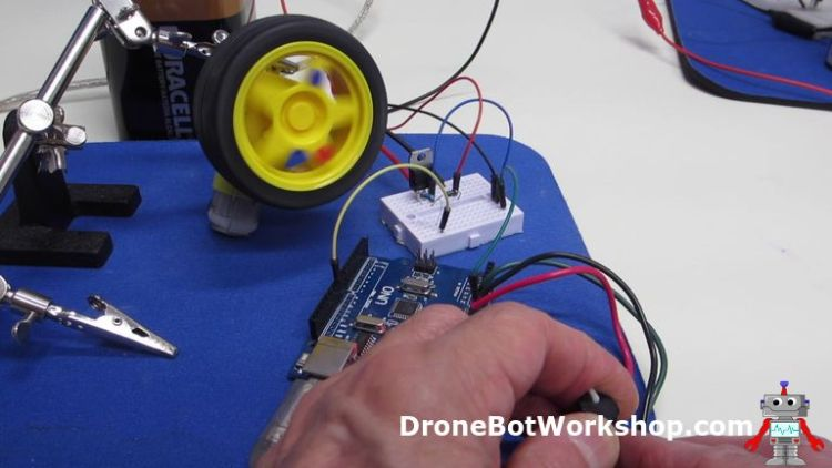 Arduino Motor Control