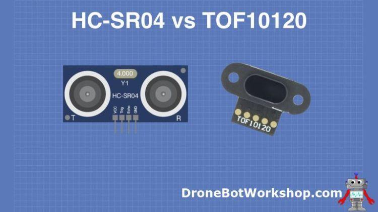 HC-SR04 vs TOF10120