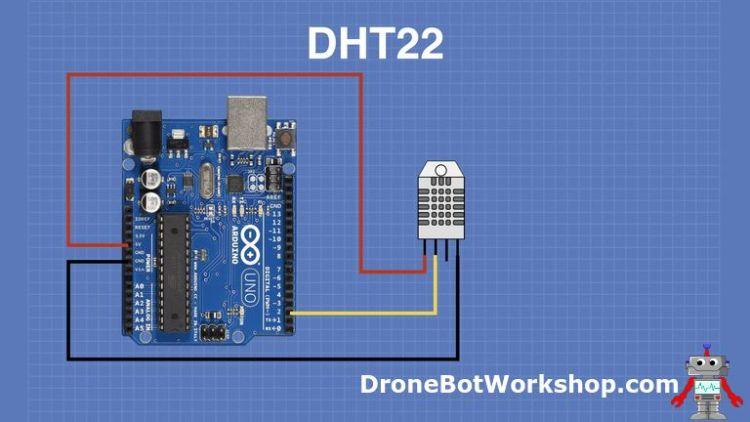 DHT22 Arduino Hookup