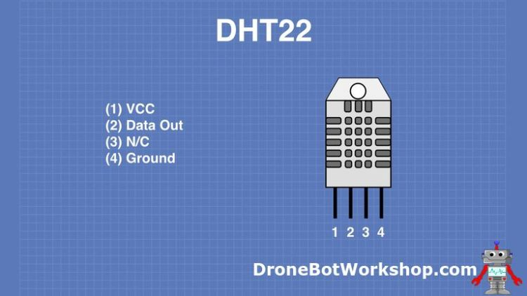 DHT22 Pinout