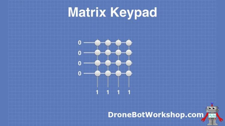Matrix Keypad # 2 - Logic Levels