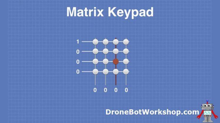 Matrix Keypad # 4 - Row Scan 1