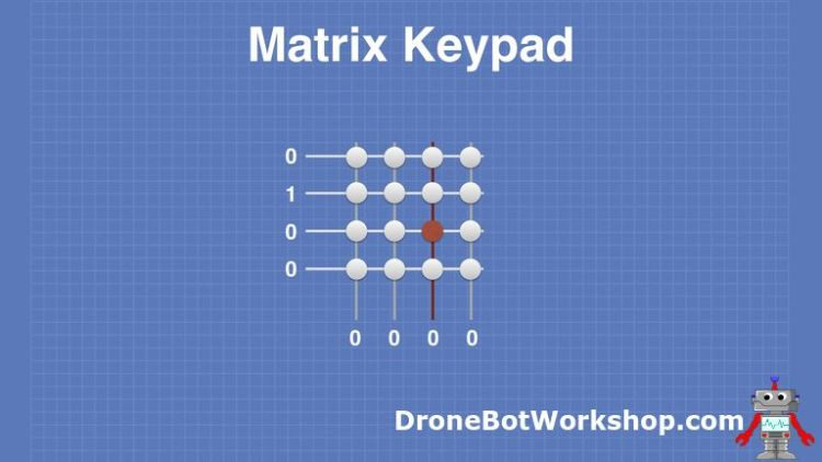 Matrix Keypad # 5 - Row Scan 2