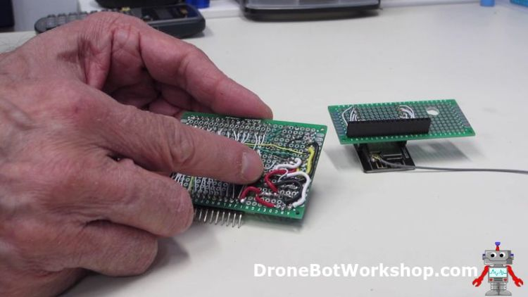 ESP32-CAM Developers Module Base Power Wiring