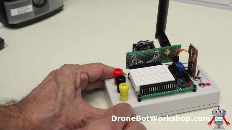 ESP32-CAM Developers Module - Rear View