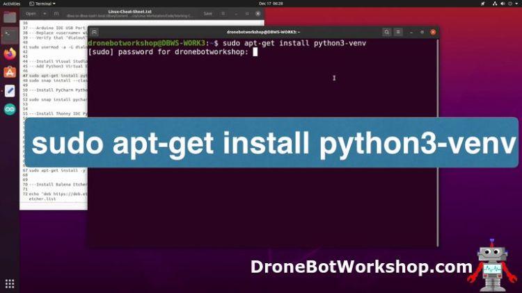 Python Virtual Environment Install