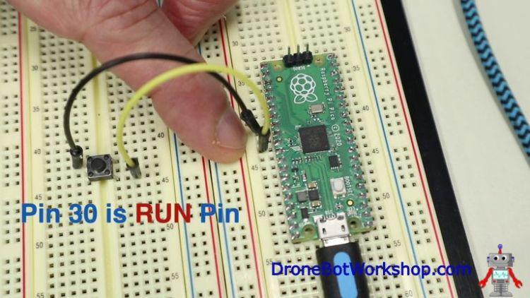 Raspberry Pi Pico Reset Switch
