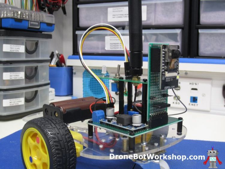 ESP32CAM Robot Car