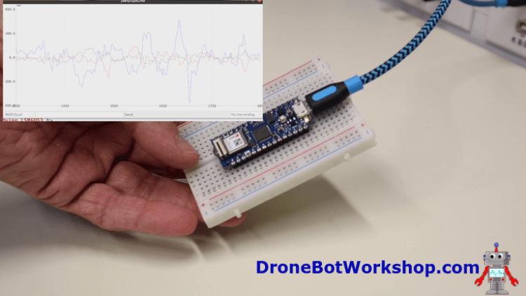 Arduino Nano 33 IoT Gyroscope Demo 2