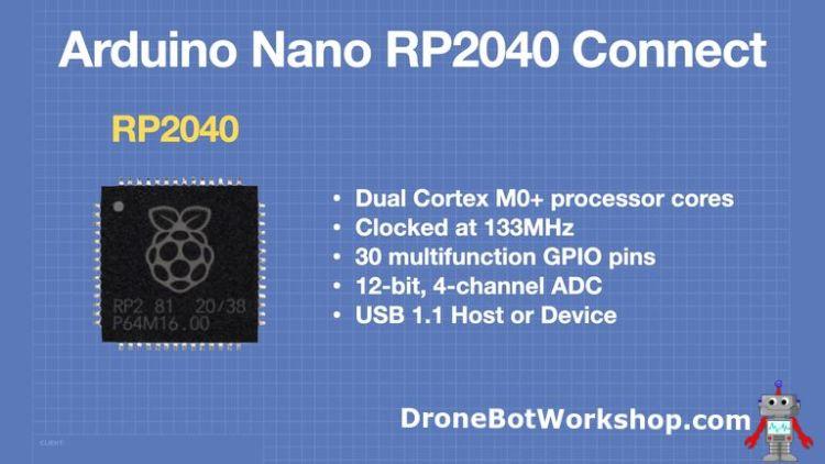 Arduino Nano RP2040 Connect - MPU
