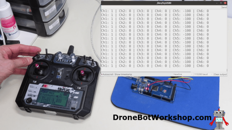 Arduino Mega RC Demo