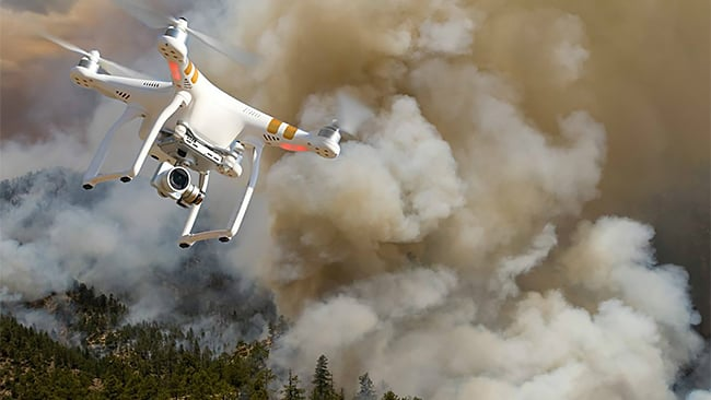 DOI Partners With Industry To Geofence Wildfires