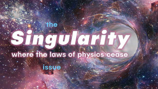 The Singularity issue of Dronin' On 03.17.18