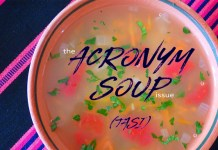 The 'Acronym Soup' issue of Dronin' On 10.13.18