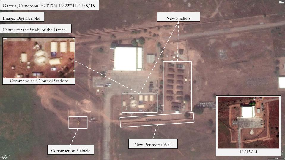 Image result for Drone base in Cameroon