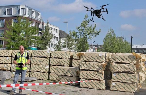Dutch Drone Survey binnen bebouwde kom