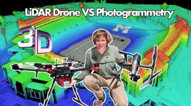 Drone LiDAR  vs Photogrammetry | Epic Stadium 3D model