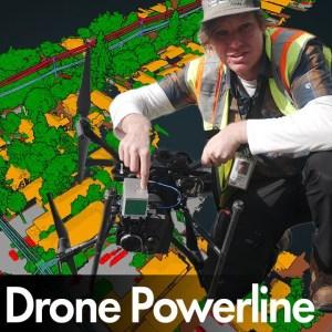LiDAR Drone Powerline Inspection | ROCK R2A | DJI M210