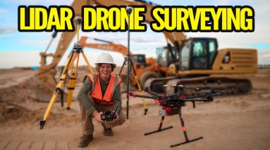 What is LiDAR Drone Surveying | Accuracies and Results
