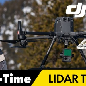 New DJI Zenmuse L1 LiDAR - Real-Time 3D data Review
