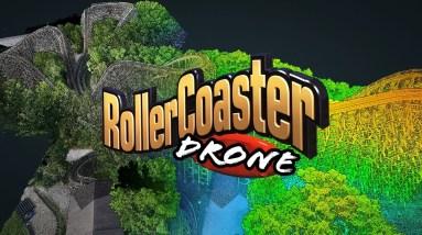 EPIC 3D LiDAR Drone model of Roller Coaster